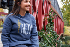 TORCH CREW NECK SWEATSHIRT - Indy Over Everything