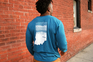 DOWNTOWN LONGSLEEVE TEE - Indy Over Everything