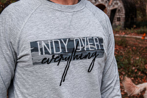 City Camo Sweatshirt - Grey