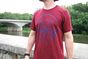 LOGO TEE - CARDINAL - Indy Over Everything