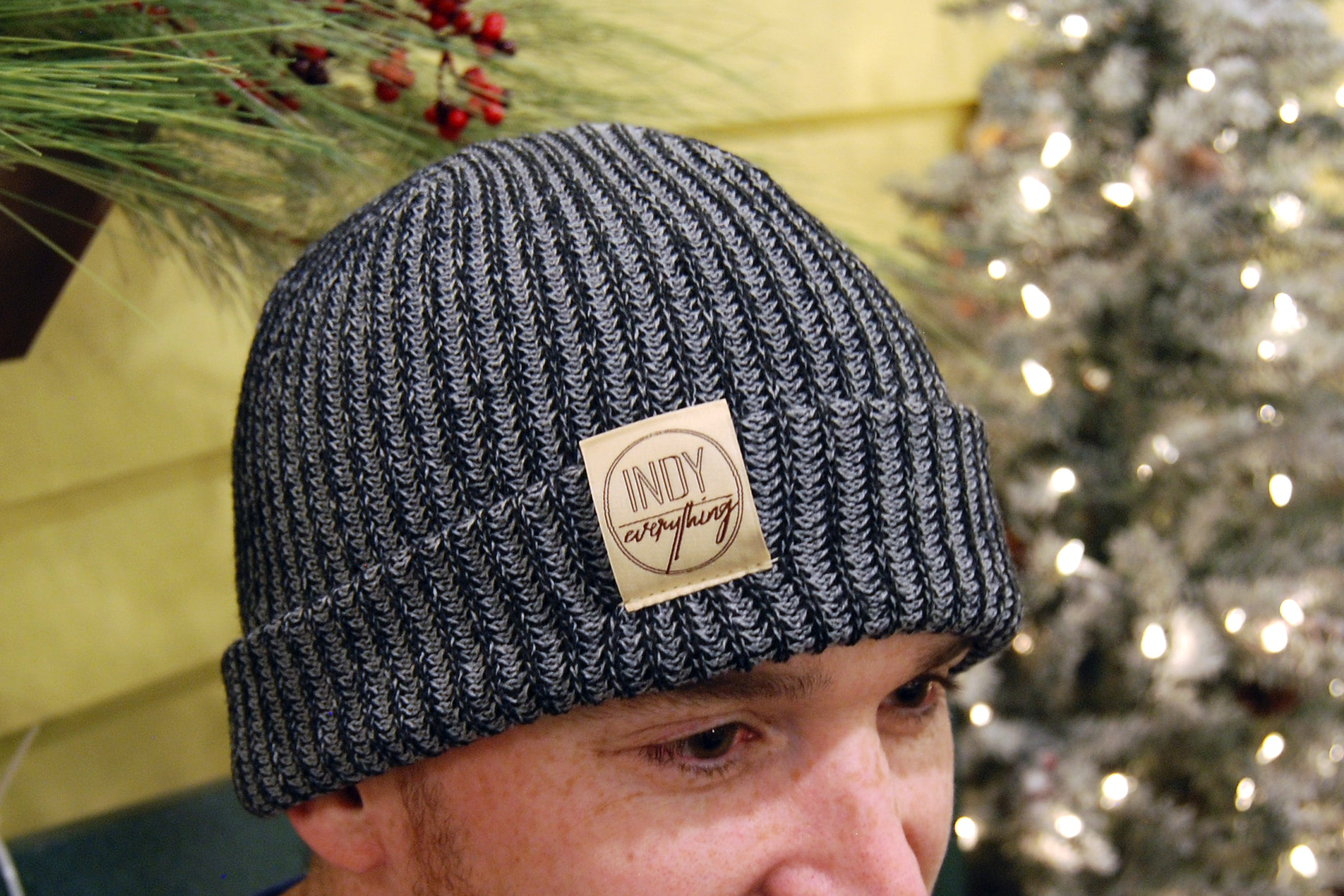 City Beanie - Charcoal - Indy Over Everything