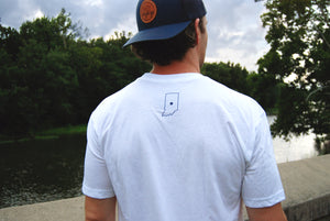 LOGO TEE - WHITE - Indy Over Everything