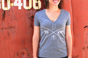 WOMEN'S INDY CAMPER TEE - Indy Over Everything