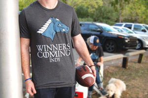 WINNERS ARE COMING T-SHIRT - Indy Over Everything