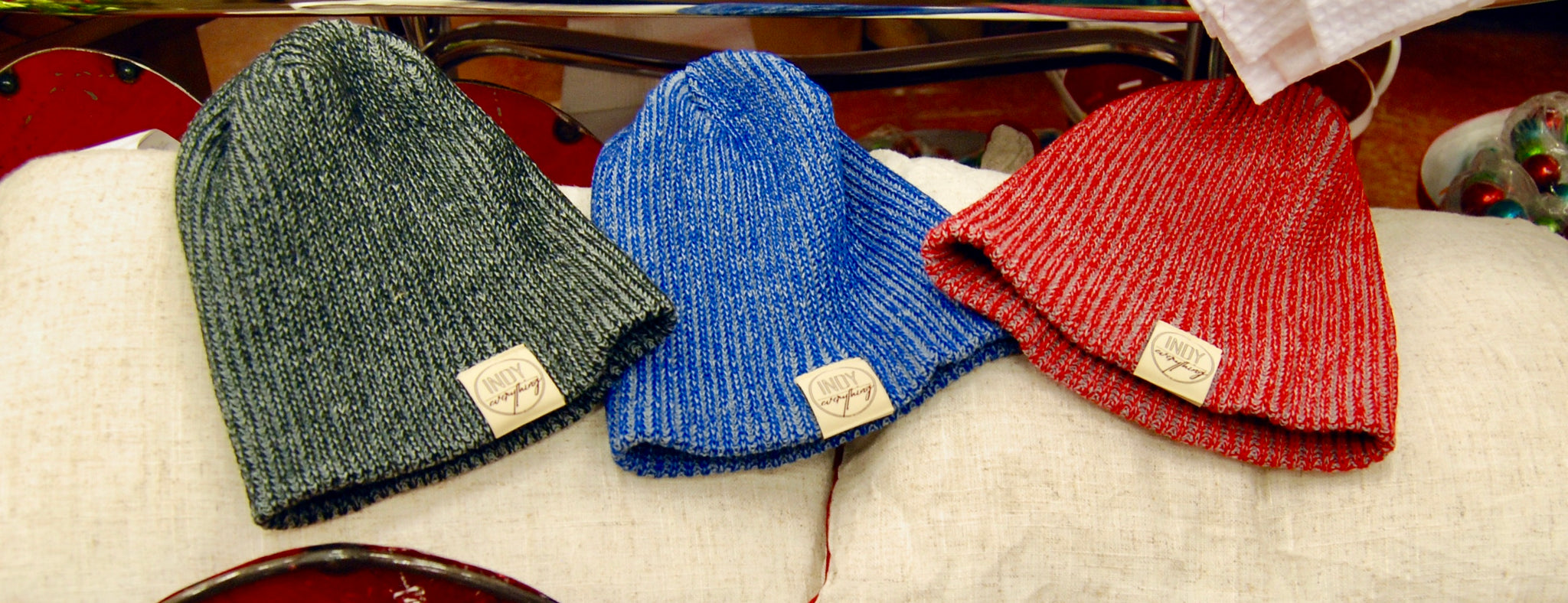 City Beanie - Blue - Indy Over Everything