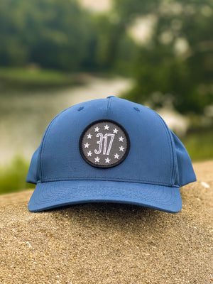 317 Patch Hat - Light Navy