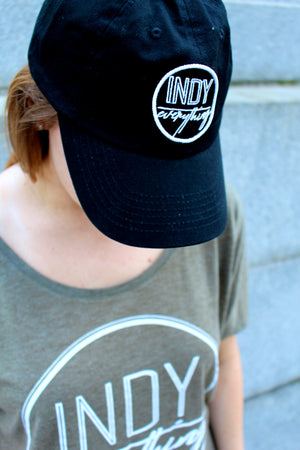 2018 DAD HAT - BLACK - Indy Over Everything