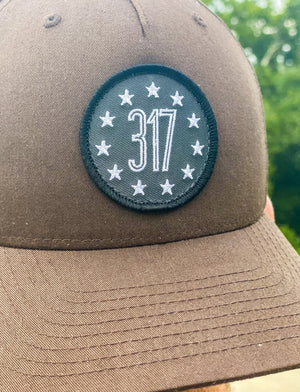 317 Patch Hat - Brown