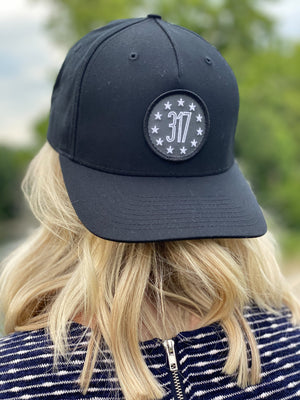 317 Patch Hat - Black