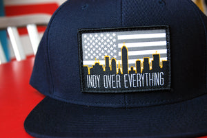 SKYLINE HAT - NAVY - Indy Over Everything