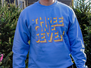 Retro 317 Sweatshirt - Carolina Blue