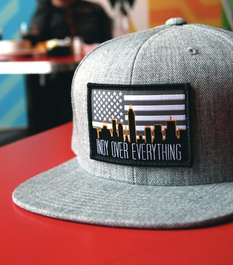 SKYLINE HAT - GREY - Indy Over Everything