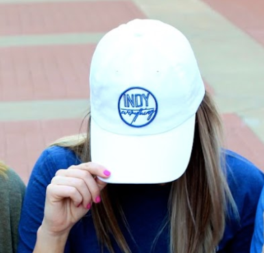 2018 DAD HAT - WHITE - Indy Over Everything