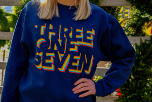 Retro 317 Sweatshirt - Navy