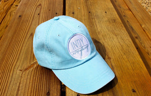 WOMEN'S HAT- LIGHT BLUE - Indy Over Everything