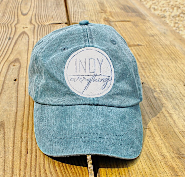 WOMEN'S DAD HAT - NAVY - Indy Over Everything