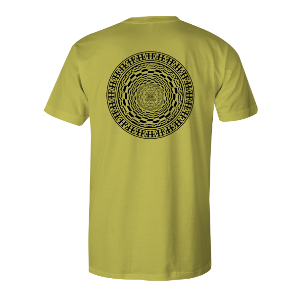 Core Mandala 317 - Yellow