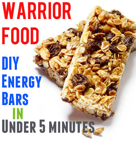 Warrior Food: DIY Energy Bars