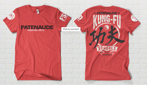 Kung-Fu Red T-shirt