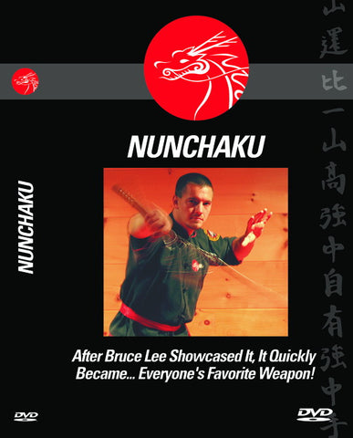 "THE NUNCHAKU (After Bruce Lee Showcased It, It Quickly Became...Everyone's Favorite Weapon!"")"