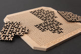Fractal Jigsaw Puzzle (14-Piece Block Version) - Design Concepts Chi