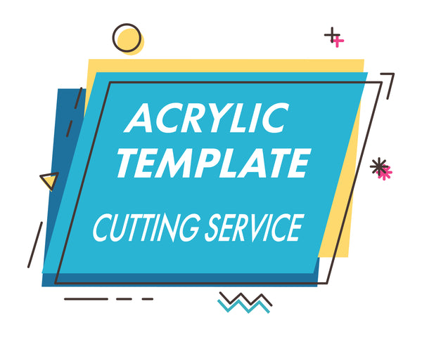 Custom Acrylic Template Pattern Cutting Service - Design Concepts Chi