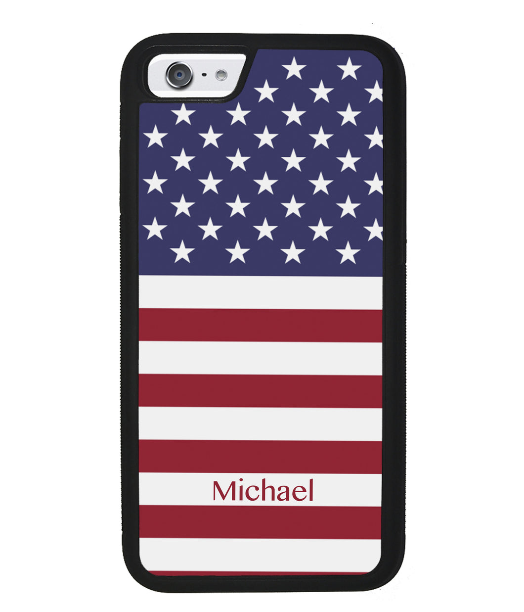 United States of American Flag Personalized | Apple iPhone Case
