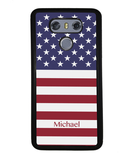 United States of American Flag Personalized | LG Phone Case