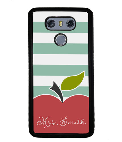 Apple Bars Personalized | LG Phone Case