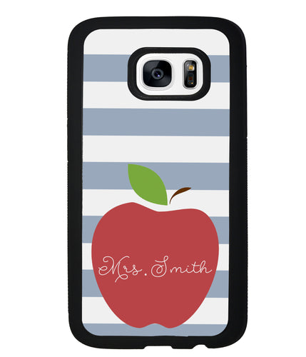 Teachers Appreciation Gift Apple Bars Personalized | Samsung Phone Case