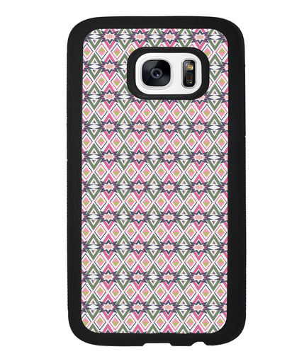 Arizona Tribal Pattern in Pink or Tan | Samsung Phone Case