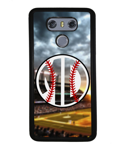 Baseball Monogram | LG Phone Case