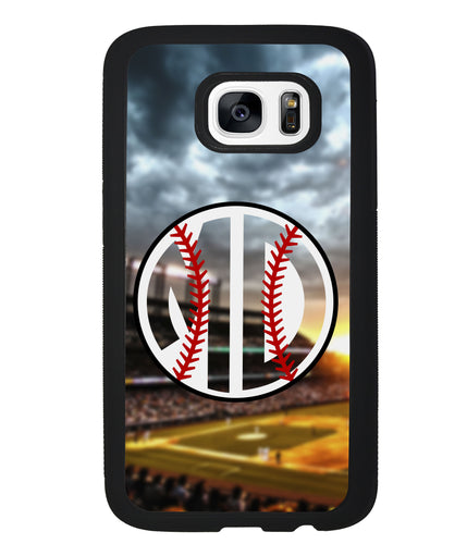 Baseball Monogram | Samsung Case
