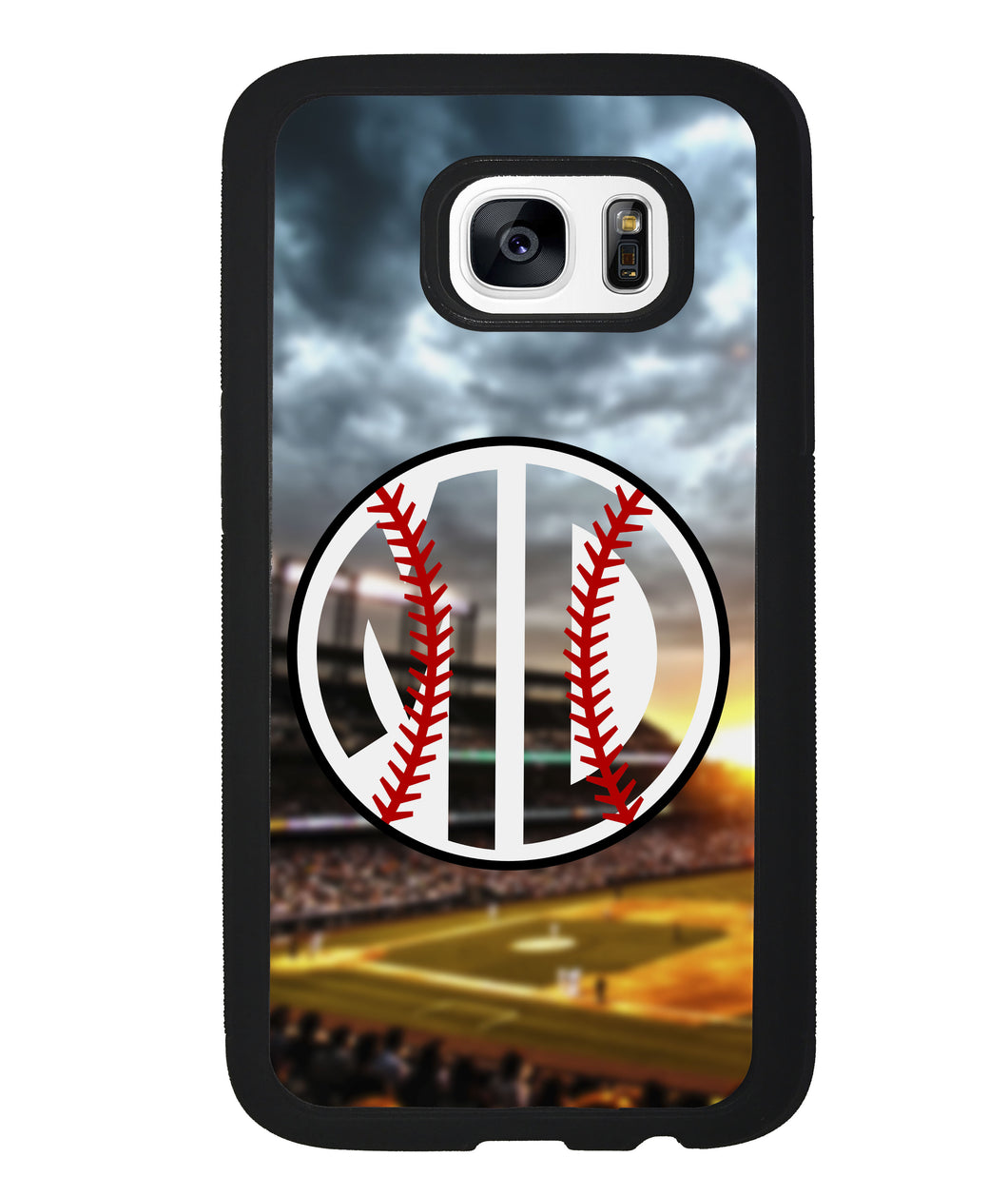 Baseball Monogram | Samsung Phone Case
