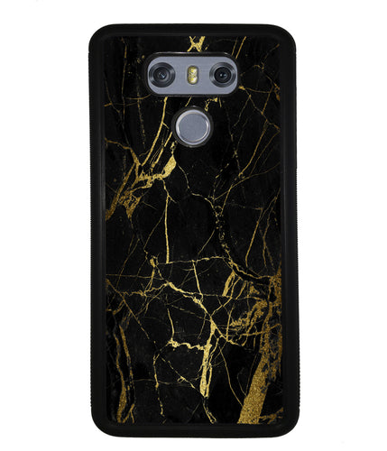 Gold and Black Marble | LG Case