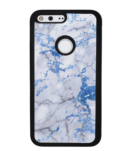Blue and White Marble | Google Phone Case