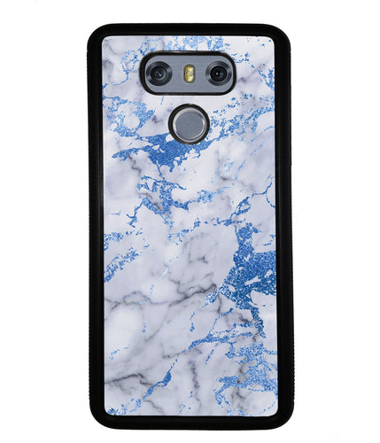 Blue and White Marble | LG Case