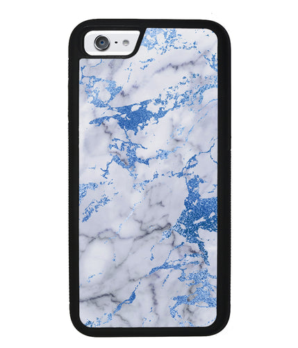 Blue and White Marble | Apple iPhone Case