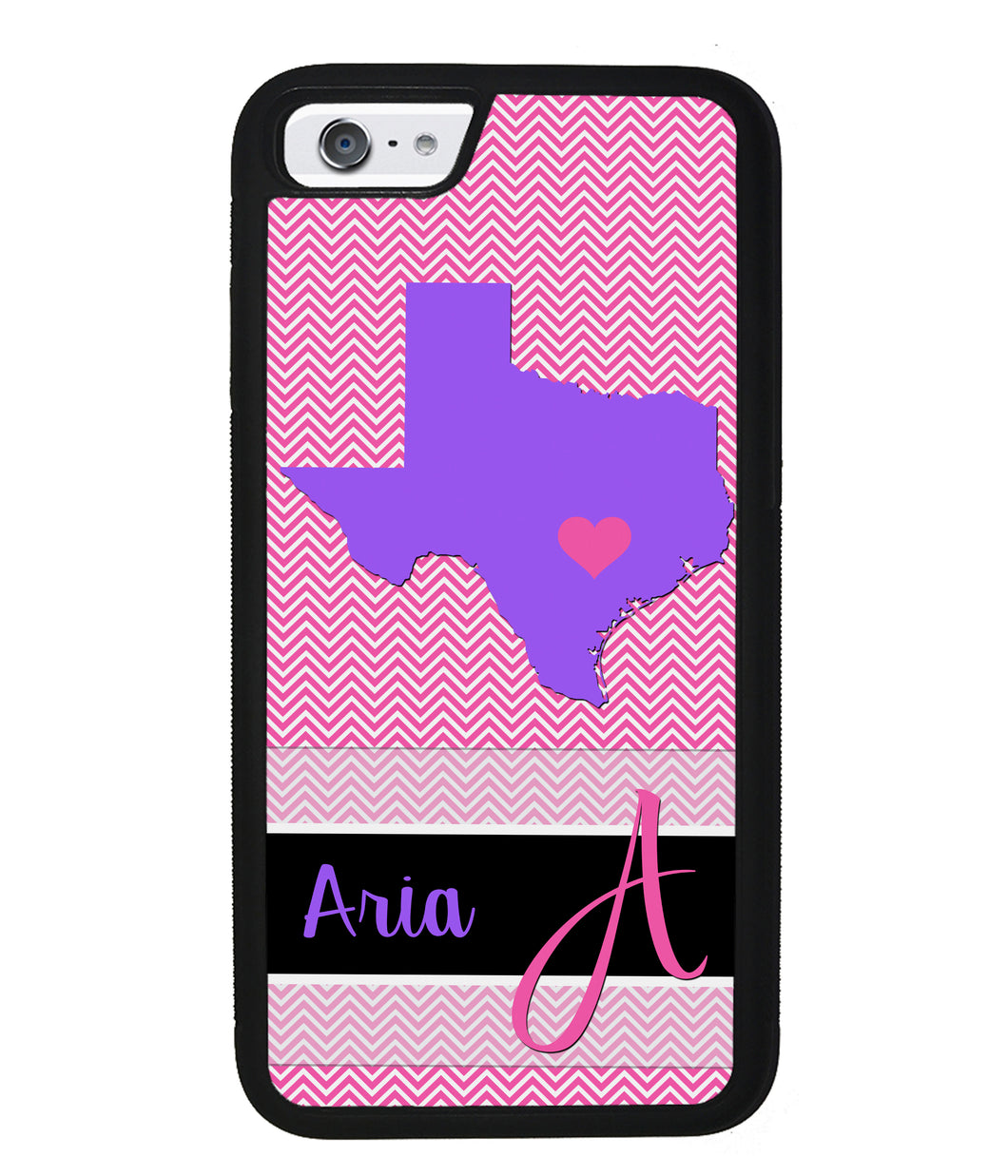 Choose Your State Chevron Personalized | Apple iPhone Case
