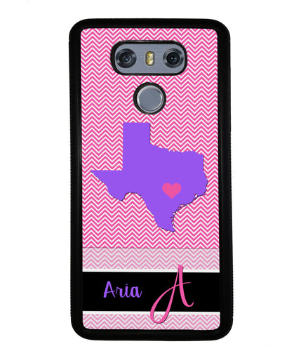 Choose Your State Chevron Personalized | LG Case