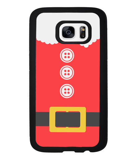 Christmas Santa Clause Suit | Samsung Phone Case