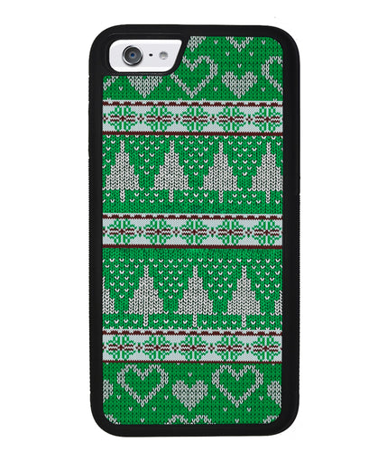 Christmas Ugly Sweater Green | Apple iPhone Case