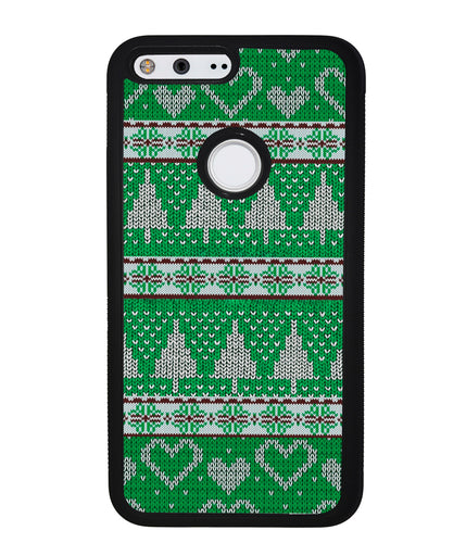Christmas Ugly Sweater Green | Google Phone Case
