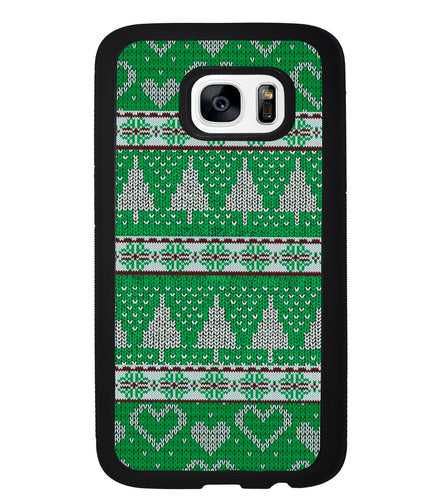 Christmas Ugly Sweater Green | Samsung Phone Case