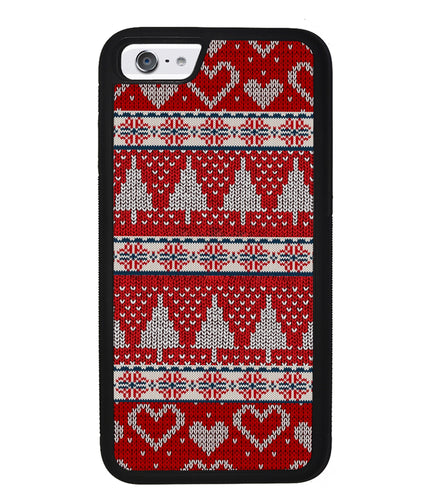 Christmas Ugly Sweater Red | Apple iPhone Case