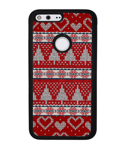 Christmas Ugly Sweater Red | Google Phone Case
