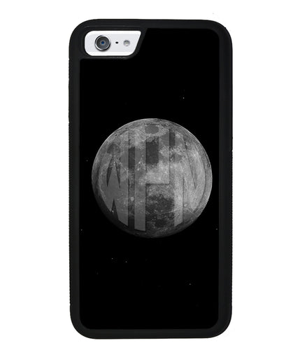 Circle Monogram Moon | Apple iPhone Case