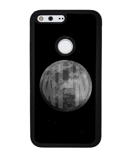 Circle Monogram Moon | Google Phone Case