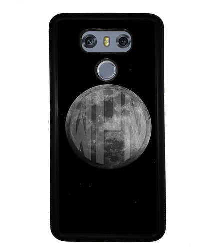 Circle Monogram Moon | LG Phone Case