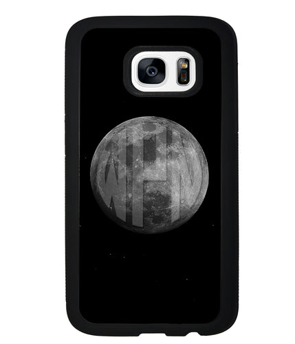 Circle Monogram Moon | Samsung Case
